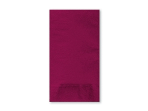 Smith Lee Dinner Napkins Burgudy 2 Ply 15.5 in. x 17 in.
