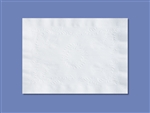 Anniversary Straight Edge White Paper Placemat - 10 in. x 14 in.
