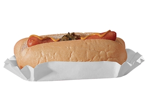 Smith Lee Medium Weight Closed End Hot Dog Tray 8 in.