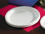 Smith Lee Rigideep Paper Plate White - 9 in.