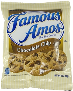 Kelloggs Keebler Famous Amos Chocolate Chip Cookie - 2 Oz.