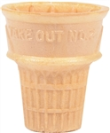 Kelloggs Keebler Eat It All Cake 25D Dispenser Cone