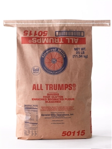 All Trumps Enriched Bromated Flour Bleached - 25 Lb.