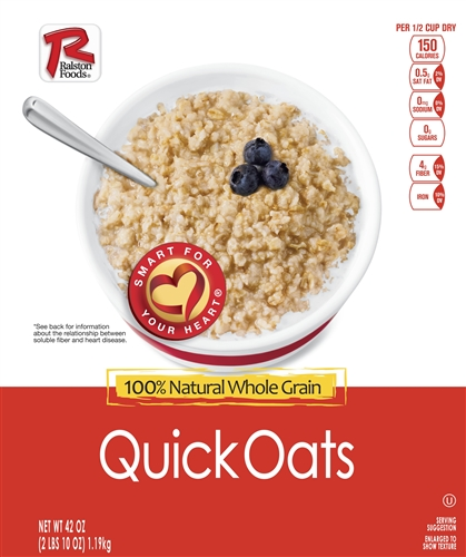 Ralston Quick Oats Hot Cereal