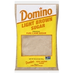 Sugar and Sugar Packets Domino Light Brown Sugar - 2 Lb.