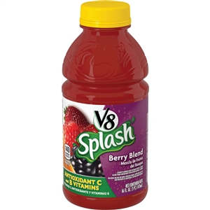 V8 Splash Beverage Berry Blend - 16 Fl. Oz.