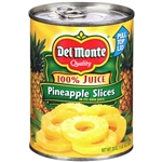 Del Monte Pineapple Slices In Juice - 20 Oz.