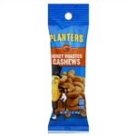 Kraft Nabisco Planters Honey Roasted Cashew Tube - 1.5 Oz.