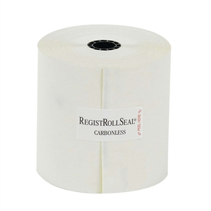 National Checking Register Roll Carbonless 2 Ply White Canary - 3 in.