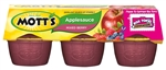 Motts Applesauce Mixed Berry Tub - 24 Oz.