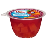 Dole Peach In Strawberry Gel - 4.3 Oz.