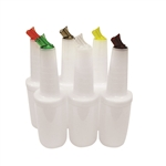 Assorted Pourer Quart Complete