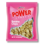 Power Snacks Banana Chip Dried - 1 Oz.