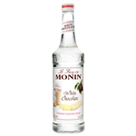 Monin White Chocolate Syrup - 750 Ml.