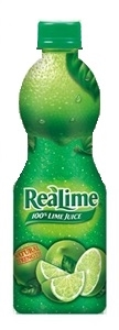 Motts Realime Juice Bottle - 8 Oz.