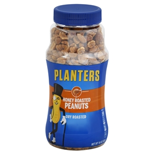 Kraft Nabisco Planters Dry Honey Roasted Peanut - 16 Oz.