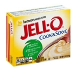 Jello Lemon Pudding and Pie Filling - 4.3 oz.