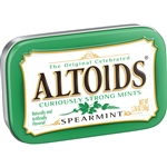 Wrigleys Altoids Spearmint Single Mints - 1.76 Oz.