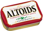Wrigleys Altoids Peppermint Single Mints - 1.76 Oz.