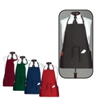 Arden Benhar Black DuraServe 3 Pocket Chef Bib Apron