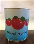Canned Three Apples Sliced In Water