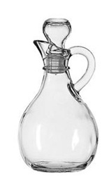 Anchor Hocking Presence Cruet and Stopper 10 oz.