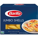 Barilla Baking Shape 12 oz. Jumbo Shells Pasta