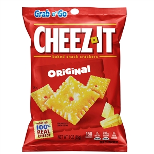 Kelloggs Cheeze It Cracker - 3 Oz.