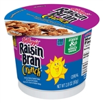 Kelloggs Raisin Bran Crunch Cereal In a Cup - 2.8 Oz.