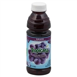 Pepsico Tropicana Grape Juice Plastic Bottle - 15 Oz.