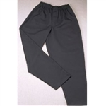 Pants Chef Black Baggy Style Small