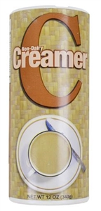 Creamer Cansister - 12 Oz.
