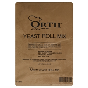 CSM Bakery Roll Yeast Mix - 20 Lb.