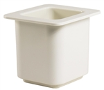 Cambro Coldfest Food Pan One Sixth Size White 6 in.