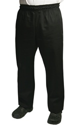 BVT-Chef Revival Black Baggy Style Large Poly Cotton Chef Pants