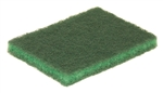Glit Disco Medium Duty Scouring Pad Green - 3.5 in. x 5 in.