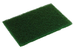 Glit Disco Heavy Duty Scouring Pad Green - 6 in. x 9 in.