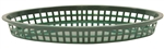 Tablecraft Texas Platter Basket Forest Green
