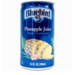 Florida Natural Bluebird Unsweetened Pineapple Juice - 5.5 Oz.
