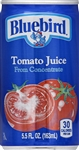 Florida Natural Bluebird Tomato Juice - 5.5 Oz.