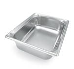 Vollrath Super Pan III Stainless Steel Half Size Deep Pan - 2.5 in.