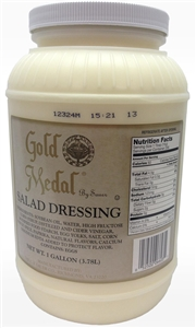 Mayo, Dressings and Condiments Gold Metal Salad Dressing 1 Gal.