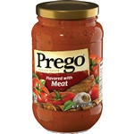 Prego Sauces Meat - 14 Oz.