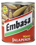 Megamex Embasa Whole Jalapeno Peppers With Escabeche