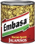 Megamex Embasa Nacho Sliced Jalapeno Peppers