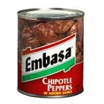 Megamex Embasa Chipotle Peppers Adobo Sauce In a Can - 7 Oz.