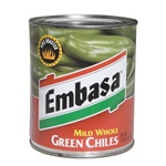 Megamex Embasa Whole Green Peppers - 27 Oz.