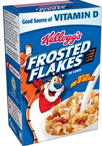 Kelloggs Frosted Flakes Cereal - 1.2 Oz.