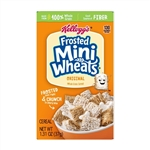 Kelloggs Frosted Miniature Wheat Bite Size Cereal - 1.31 Oz.