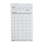 National Checking Guest Check Waiterpad Paper White Eight Line